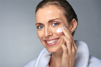 Skin care after winter