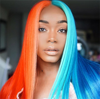 What is a split hair dye, and how to do it