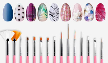 Manicure brushes – what they are used for and their types